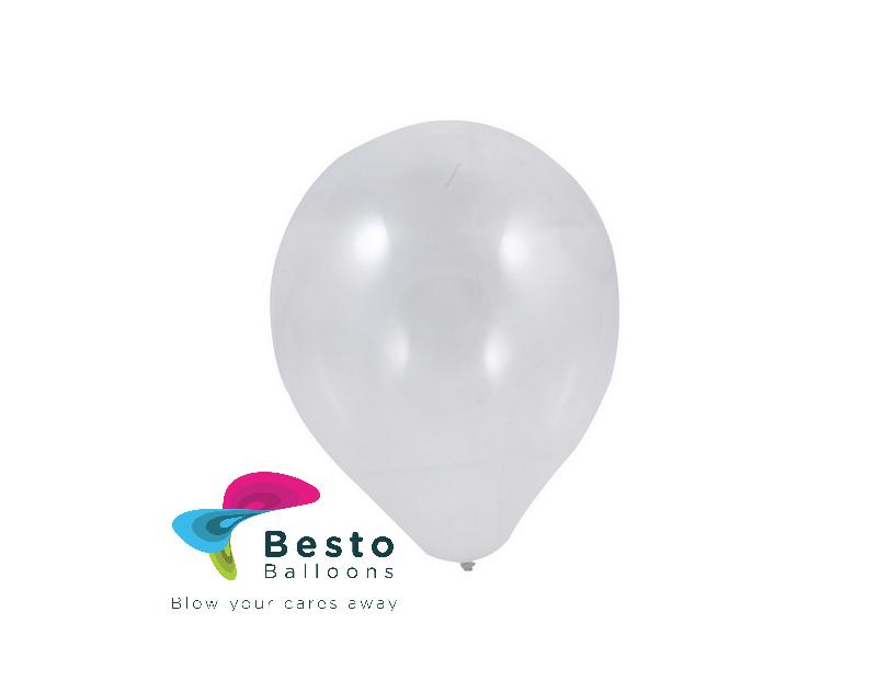 9 Inch White Balloon