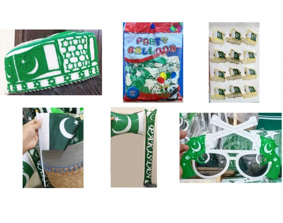 14th August Pakistan Independence Day Special Complete Kit