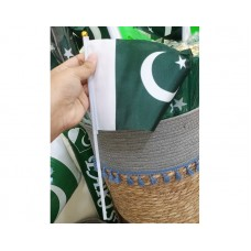 14th August Pakistan Independence Day Special Flag Small 12 Pcs Pack