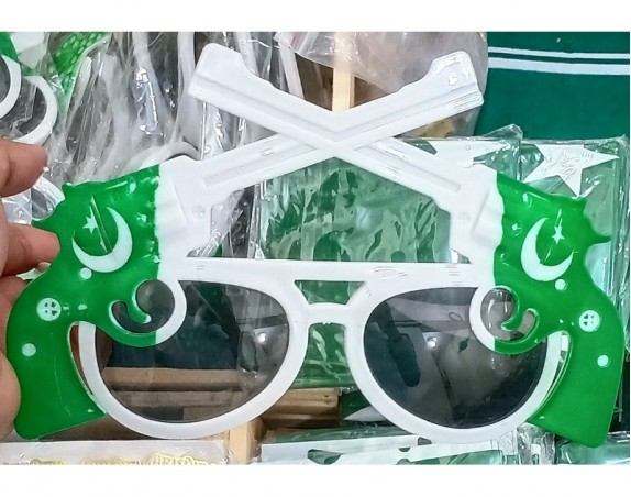 14th August Pakistan Independence Day Special Sun Glasses