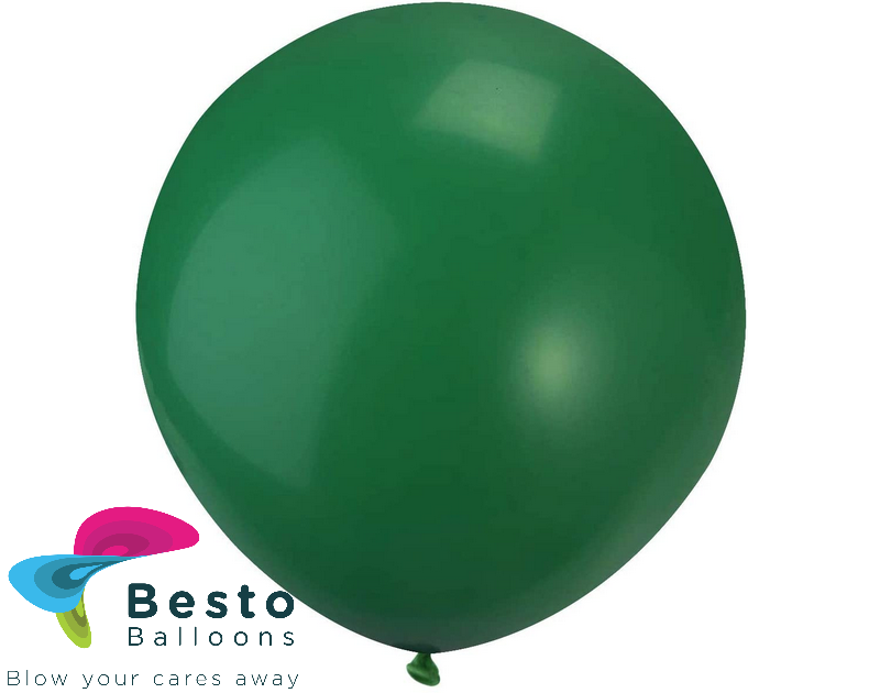 Dark Green Latex Balloon 18 inch