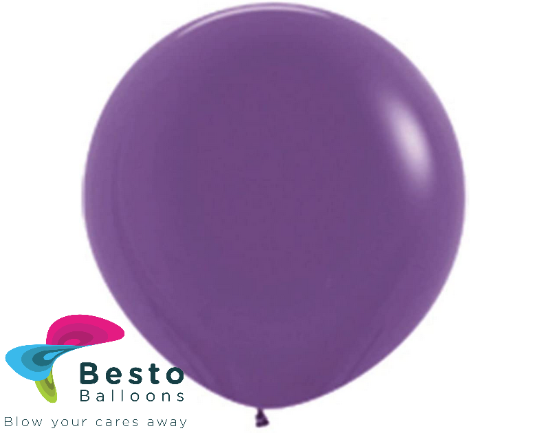 Purple Latex Balloon 18 inch