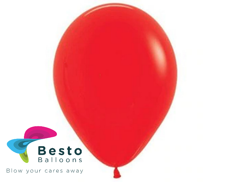 Red Latex Balloon 9 inch