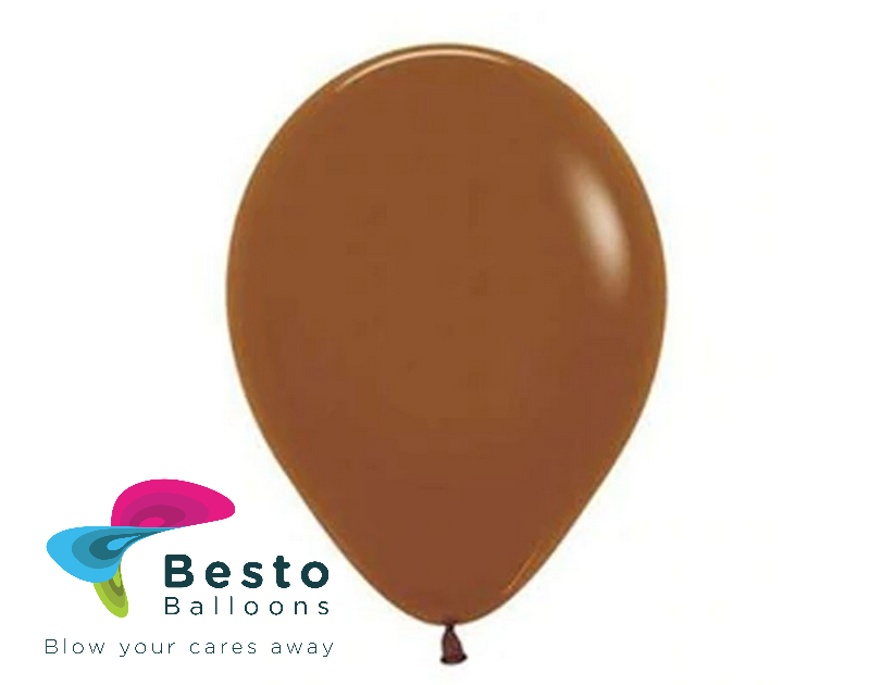 Brown Latex Balloon 9 inch