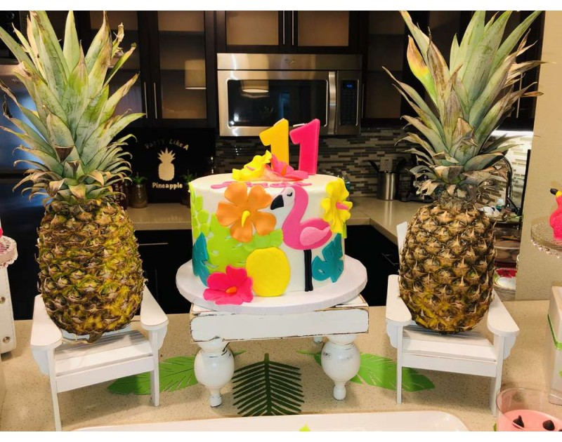 Pineapple And Flamingo Party