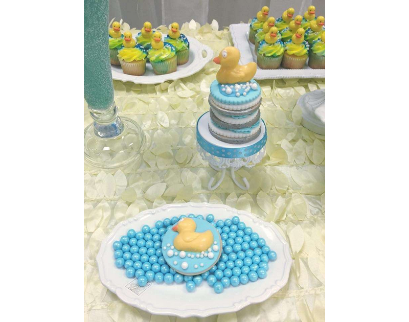 Rubber Ducky Baby Shower Theme