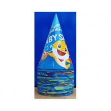 Baby Shark Birthday Caps