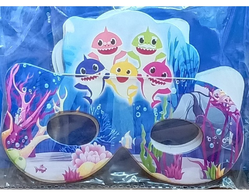 Baby Shark Eye Masks 10 Pcs Pack