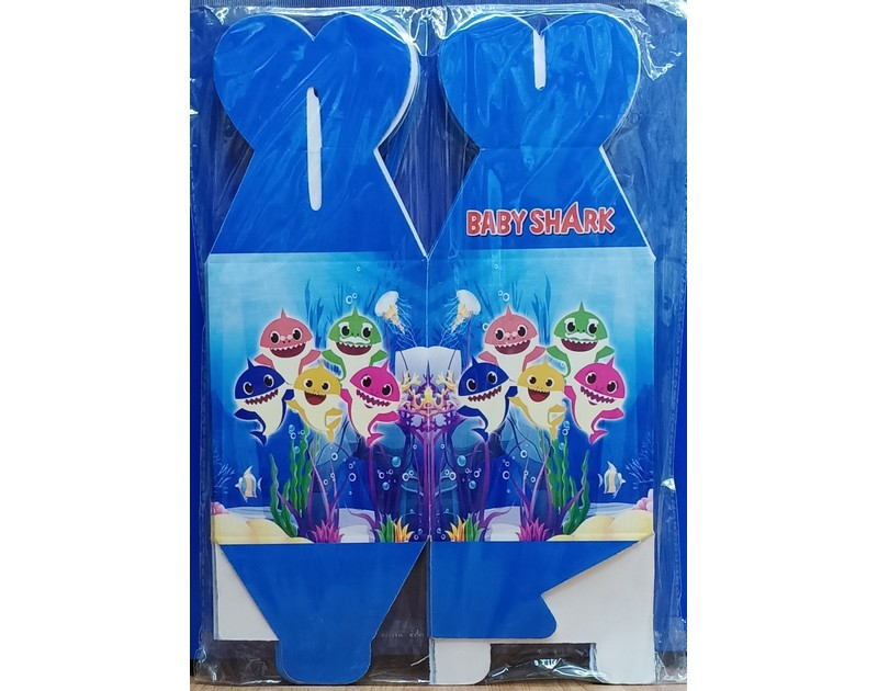 Baby Shark Goodie Box 10 Pcs Pack