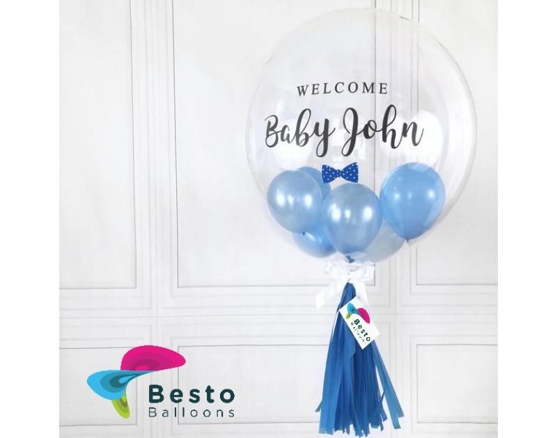 Baby Boy Bubble Balloon