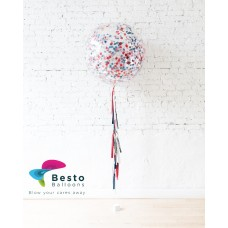 Multicolor Palette Confetti Giant Balloon
