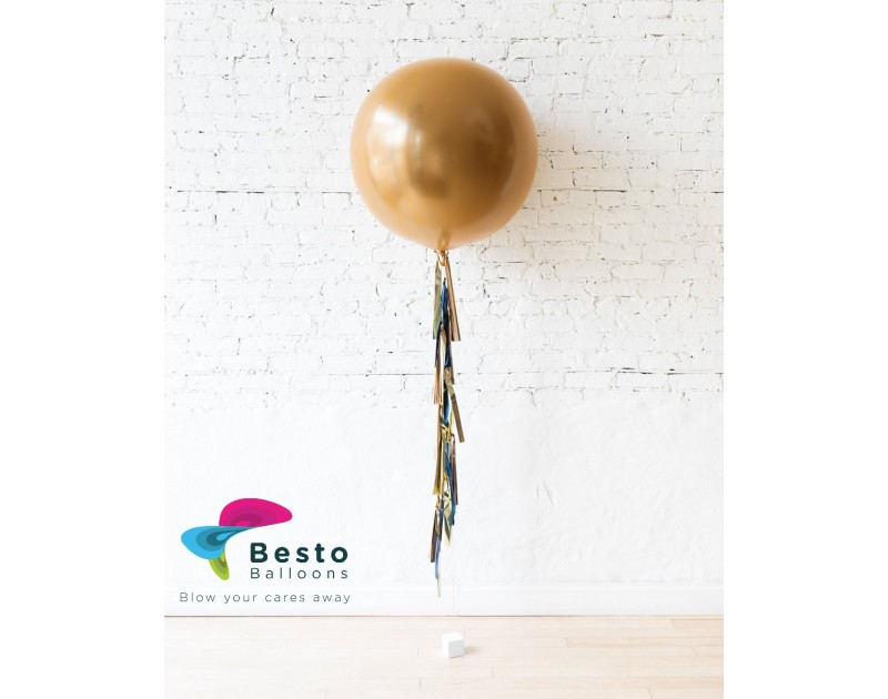 Balloon Decoration Midnight Copper