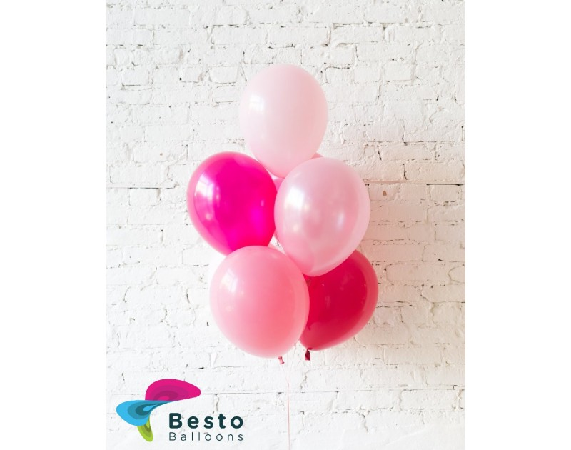 Shades of Pink Palette Balloon Bouquet