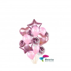 Balloon Bouquet Pink