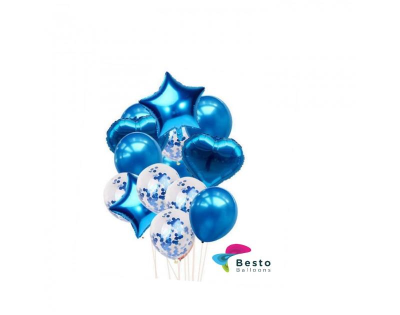 Balloon Bouquet Blue