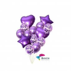 Balloon Bouquet Purple