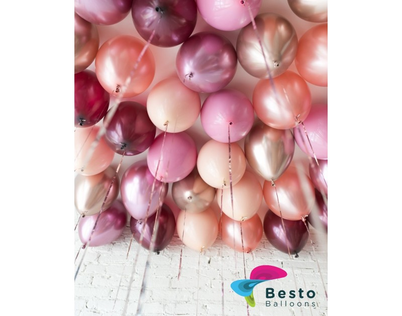Balloon Decoration Berry Blush