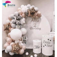 Little Star Balloon Garland Decoration