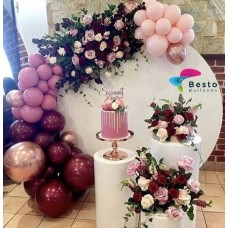 Berry Blush Balloon Garland Decoration
