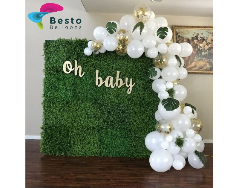 Oh Baby Balloon Garland  Decoration
