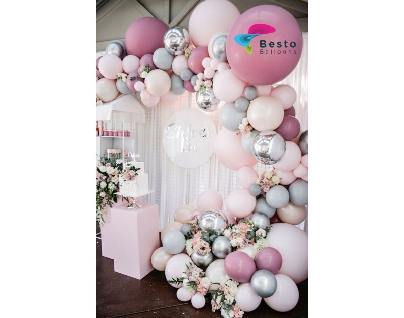 Soft Tones Balloon Garland Decoration