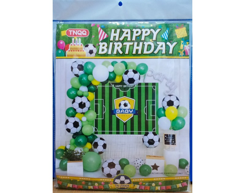 Football Balloons Garland Kit