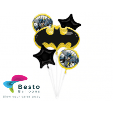 Batman 5 pc Foil Balloon Bouquet