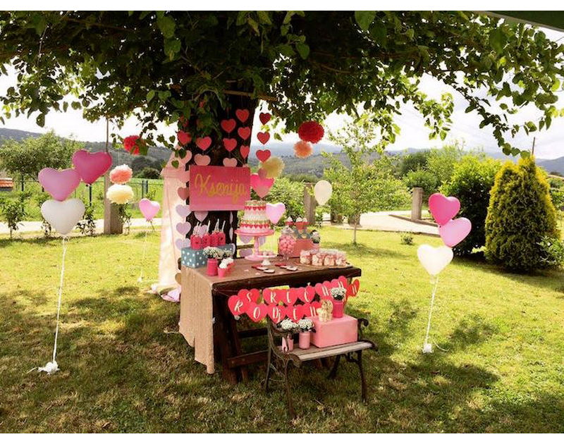 Pink Ombre's Party