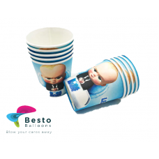 Boss Baby Paper Cups 10 pc