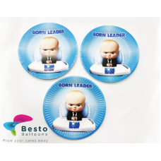 Boss Baby Paper Plates 10pc
