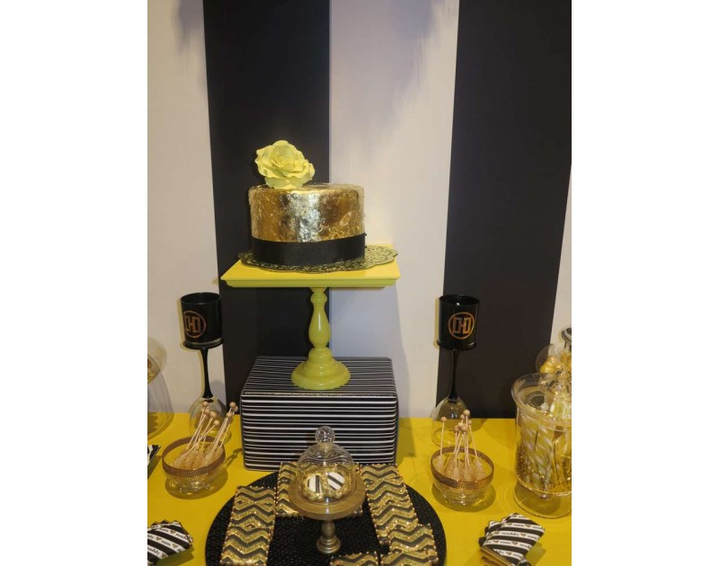 White and Gold Theme Customised Bridal  Shower Package