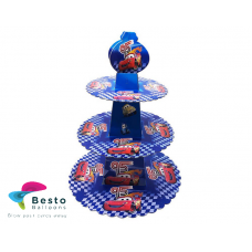 Cars  3 Tier Cupcake stand