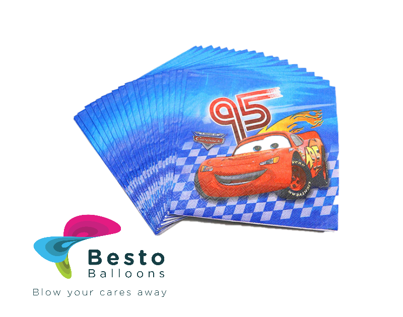 Cars Napkins 10 pc