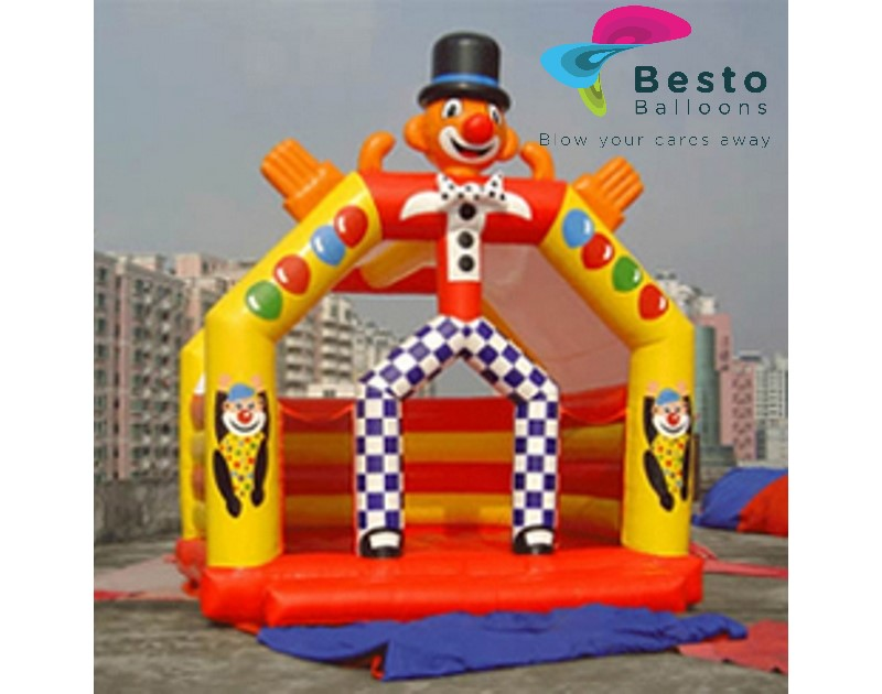 Clown Bouncing Castle Rental