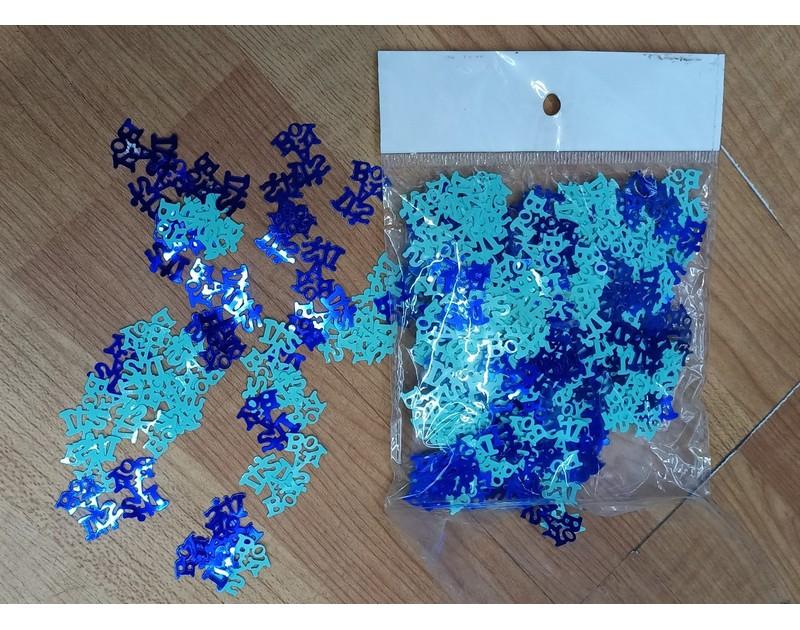 Confetti Blue Its a boy