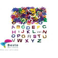 Confetti Multicolor Alphabets