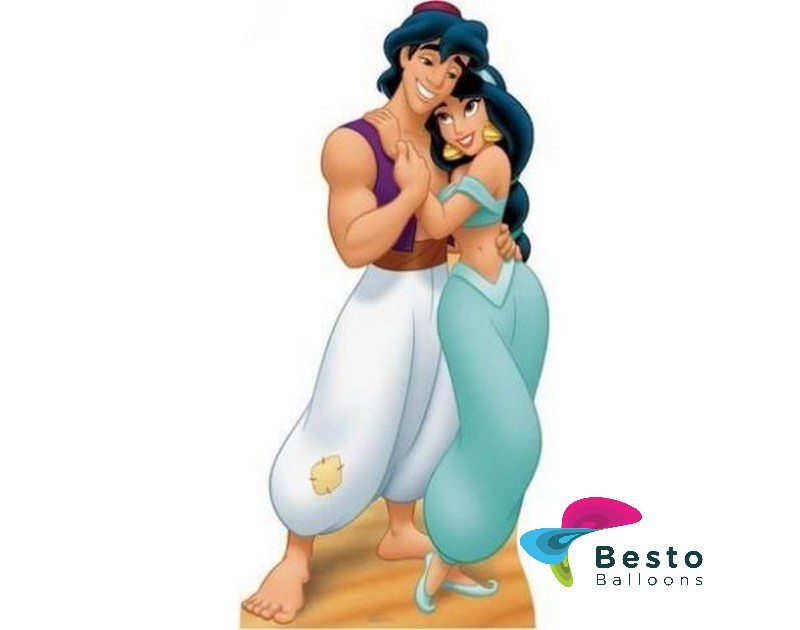 Aladdin And Jasmine Cutout