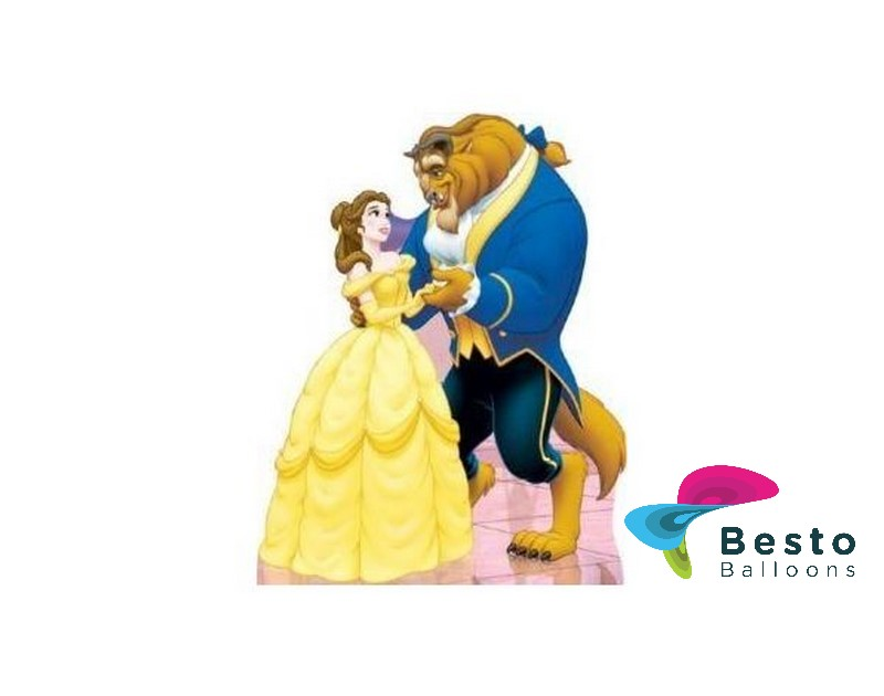 Belle and Beast Cutout