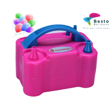 Dual Nozzle Electric Balloon Inflator Pump