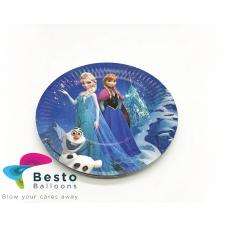 Frozen paper plates  10pc