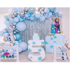 Frozen Balloon Garland  Decoration