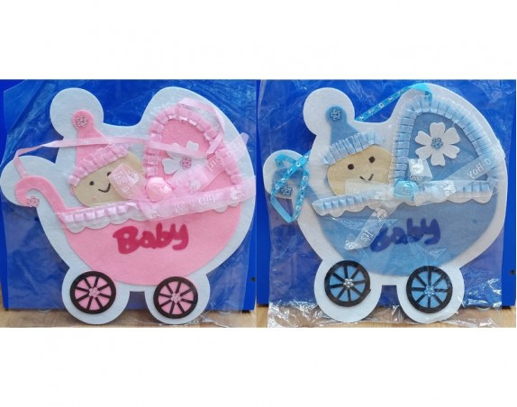 Its a Boy/Girl Door Hangings (Cloth)