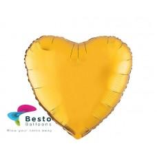 Gold Heart Shape Foil Balloon