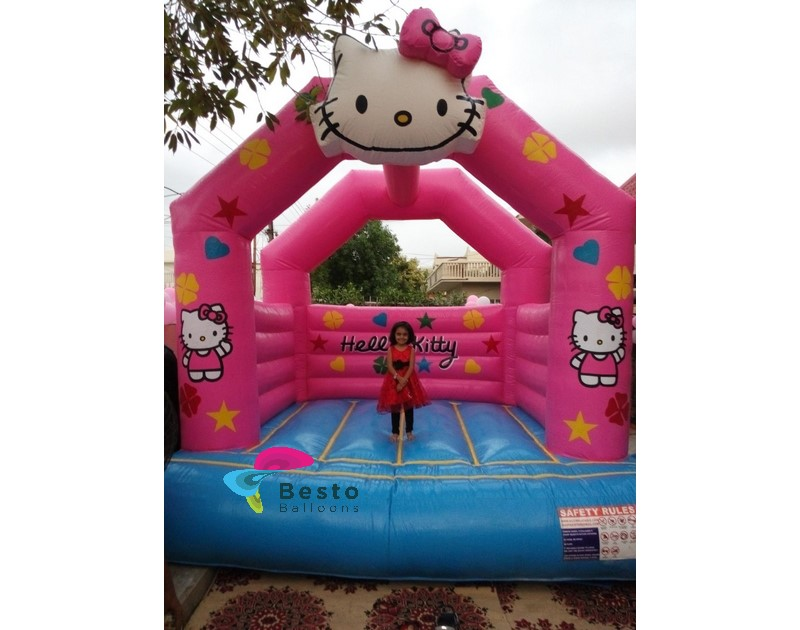 Hello Kitty Bouncing Castle Rental Service