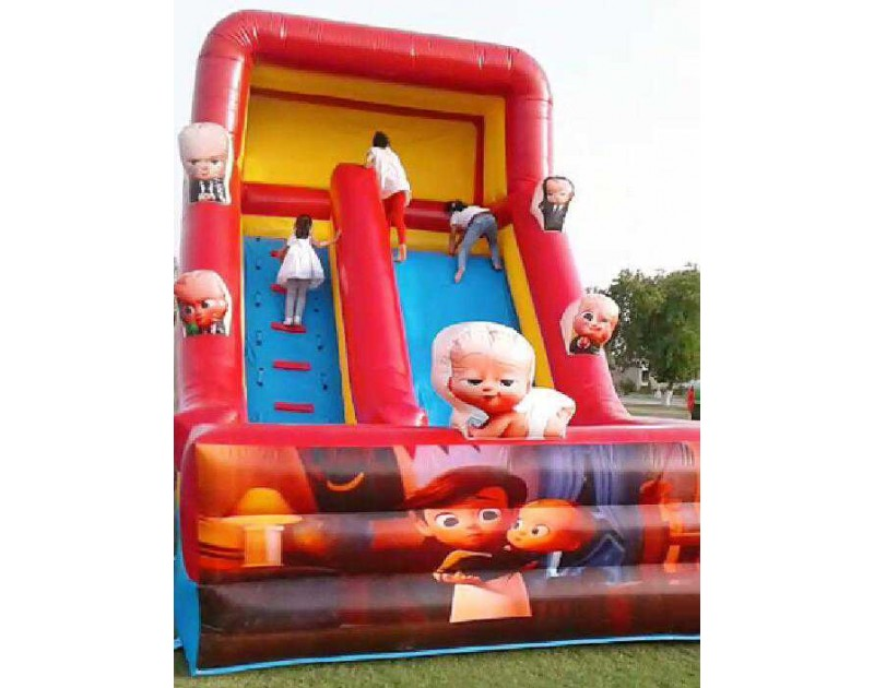 Inflatable Slide and Bouncing Combo