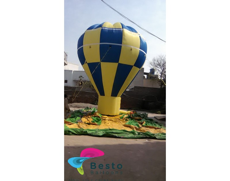 Customized Inflatable Cold Air Balloon Custom Made 25 Ft