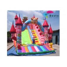 Multicolor Inflatable Slide Rental Service