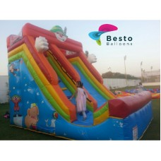 Clown Inflatable Slide Rental Service
