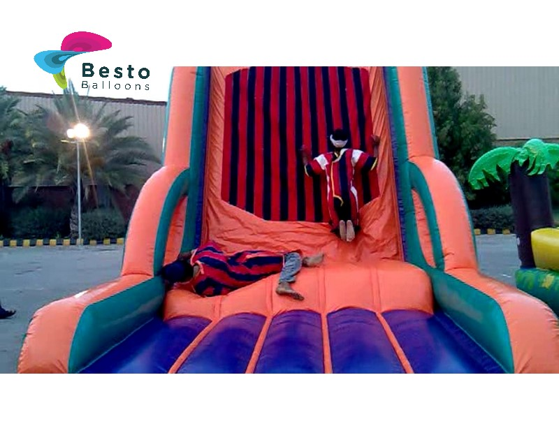 Inflatable Velcro Sticky wall Activity Rental Service