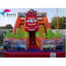 Cars Inflatable Slides and Bouncing Combo Rental Service